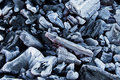 Coal closeup Royalty Free Stock Image