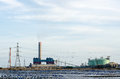 Coal fired electric power plant inthailand Royalty Free Stock Image