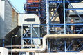 Coal fired power plant the part of Stock Photo