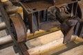 Coal mine cart. Royalty Free Stock Photo