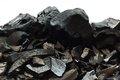 Coal mineral stone background Royalty Free Stock Photo