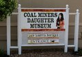Coal Miners Daughter Museum Welcome Sign, Hurricane Mills Tennessee Royalty Free Stock Photo