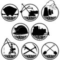 The coal-mining industry