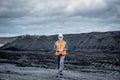 Coal mining worker