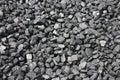 Coal Pile. Royalty Free Stock Photos