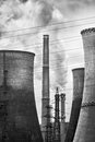 Coal Power plant Royalty Free Stock Photo