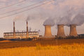 Coal Power Station 3227 Royalty Free Stock Photo