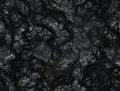 Coal texture. after volcano eruption. lava solidified Royalty Free Stock Photo
