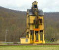 Coal tipple in renovo, pa Royalty Free Stock Images
