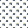 Coal trolley pattern seamless