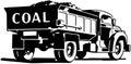 Coal Truck Royalty Free Stock Photo