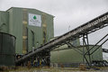 Coal washing plant Royalty Free Stock Photo