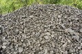 Coal for winter good value and good quality in stock waiting the first customers Stock Photo