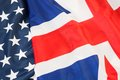 A coalition of two nato countries the us and britain Stock Photo