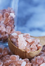 Coarse Himalayan Pink Salt Stock Photo