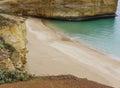 The coast along the Australian Great Ocean road Royalty Free Stock Image