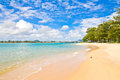 Coast of andaman sea in the indian ocean at phuket thailand Royalty Free Stock Image