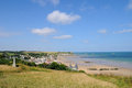 Coast Arromanches Royalty Free Stock Photo