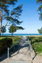 Coast of the baltic sea in germany Royalty Free Stock Photography
