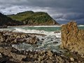 Coast of Bizkaia Royalty Free Stock Photo