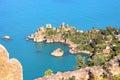 Coast of Cefalu' Royalty Free Stock Photo