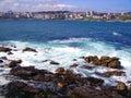 Coast of a coruña spain galicia Stock Photography