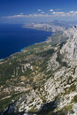 The coast of Dalmatia Royalty Free Stock Photography