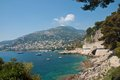 Coast of the French Riviera Royalty Free Stock Photo