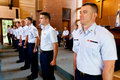 Coast Guard Graduates from MST Royalty Free Stock Photography