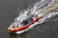 Coast guard jacksonville florida march a us foot defender class boat patrolling the waterways of jacksonville florida on march Stock Photo
