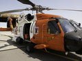 Coast Guard Jayhawk Helicopter Royalty Free Stock Photos