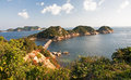 Coast of the island Shodoshima in Japan Stock Image