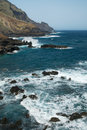 Coast of La Palma Stock Images