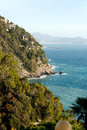 Coast in Liguria Royalty Free Stock Photo