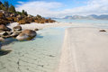 Coast on the Lofoten Island, Norway Royalty Free Stock Image