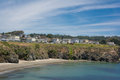 The coast of mendocino california a view in Royalty Free Stock Image