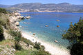 Coast near patara mediterranean turkey Stock Photo