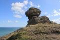 Coast of Sakhalin Island - sphinx Stock Photography