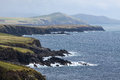 Coast at slea head drive iveragh peninsula county kerry ireland Royalty Free Stock Image