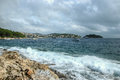 Coastal City of Hvar Royalty Free Stock Photo