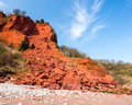 Coastal Erosion Royalty Free Stock Image