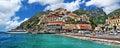 Coastal Italy - Positano Royalty Free Stock Photo