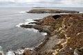Coastal landscape on Kangaroo Island Royalty Free Stock Photo