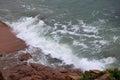 Coastal landscape in qingdao china Royalty Free Stock Photos
