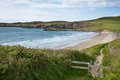 Coastal path pembrokeshire whitesands bay wales coast uk Royalty Free Stock Photos