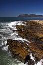 Coastal rocks scenery Stock Photos