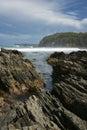 Coastal scene. Royalty Free Stock Image
