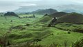 Coastal scenery at the Azores Royalty Free Stock Image