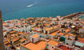 Coastal Spanish town. Stock Image
