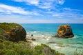 Coastal view in melbourne australia Stock Photography
